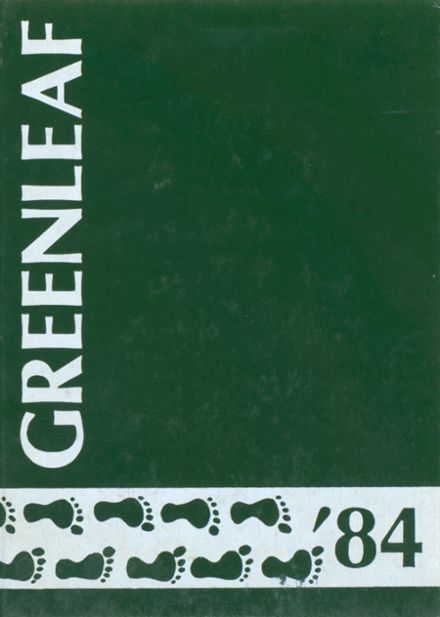 1984 Greenwich Academy Yearbook Cover