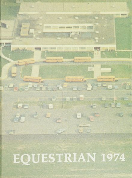 1974 Frank B. Kellogg High School Yearbook Cover