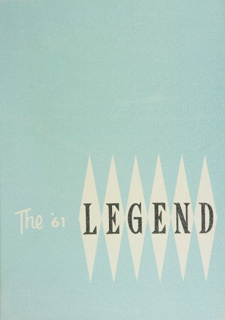 1961 Maine West High School Yearbook Cover