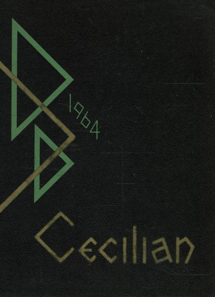 1964 St. Cecilia School Yearbook Cover