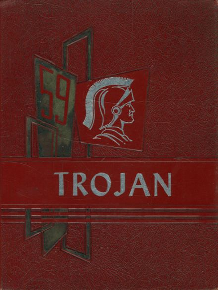 1959 Midlothian High School Yearbook Cover