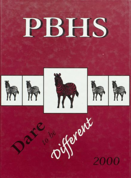 2000 Pine Bluff High School Yearbook Cover