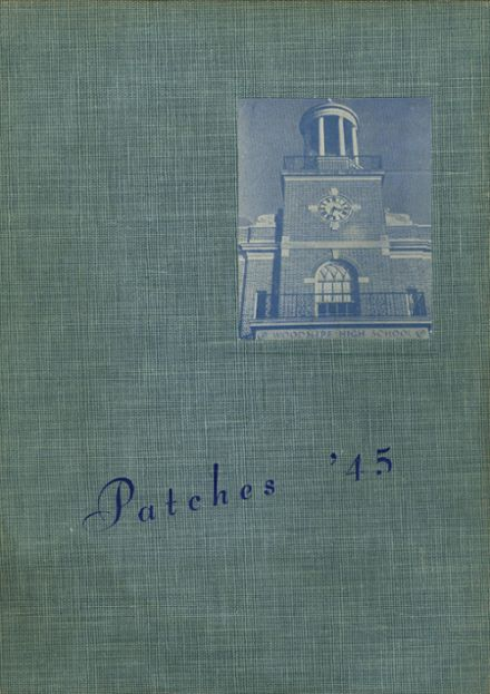 1945 Woodmere High School Yearbook Cover