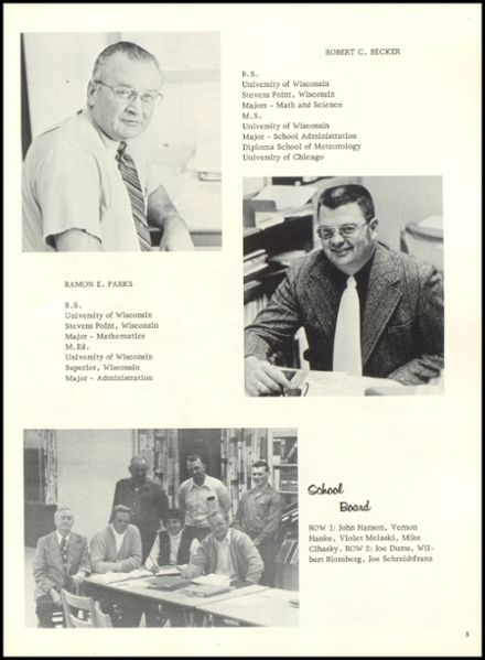 1974 Rib Lake High School Yearbook Page 9