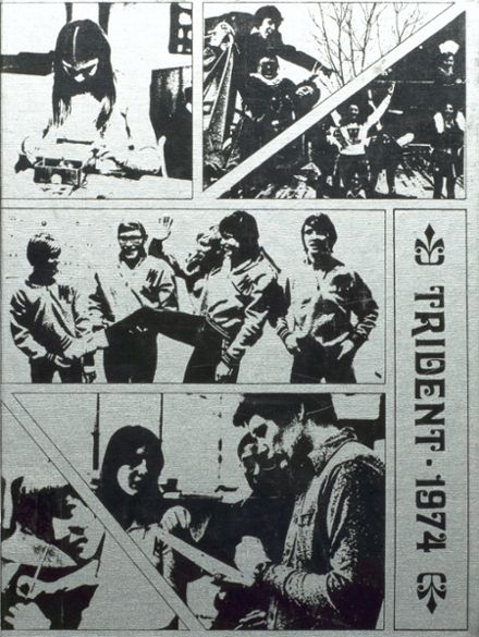 1974 West Lafayette High School Yearbook Cover