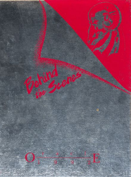1992 Bangor High School Yearbook Cover