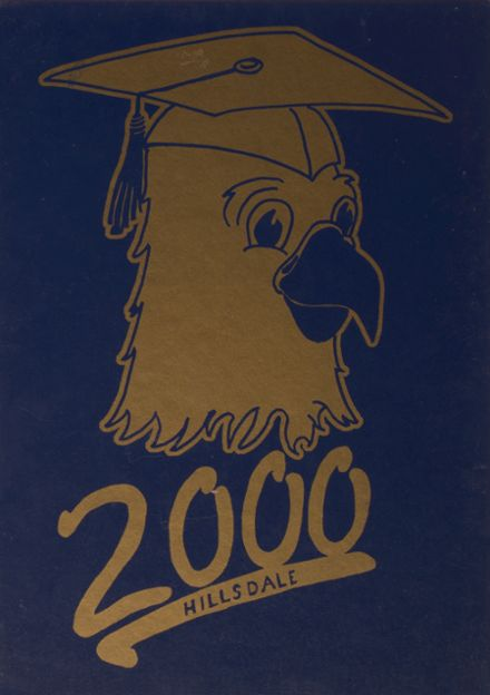 2000 Hillsdale High School Yearbook Cover