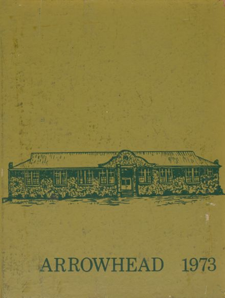 1973 Murray County High School Yearbook Cover