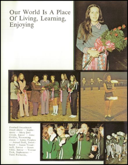 1973 Murray County High School Yearbook Page 8