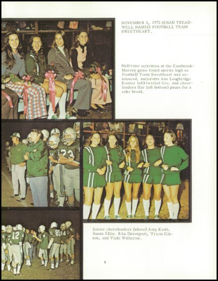 1973 Murray County High School Yearbook Page 9