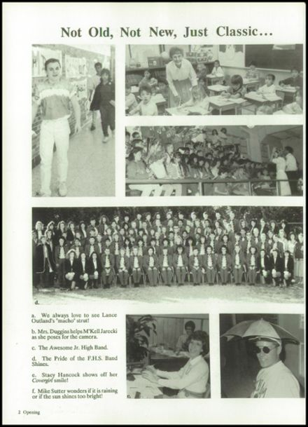 1989 Friona High School Yearbook Page 6