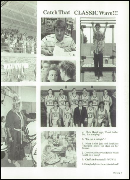 1989 Friona High School Yearbook Page 9