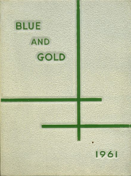 1961 Gray High School Yearbook Cover