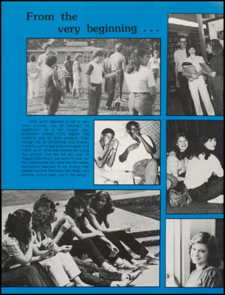 1983 Conway High School Yearbook Page 8