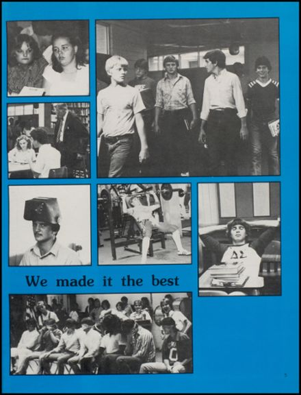 1983 Conway High School Yearbook Page 9