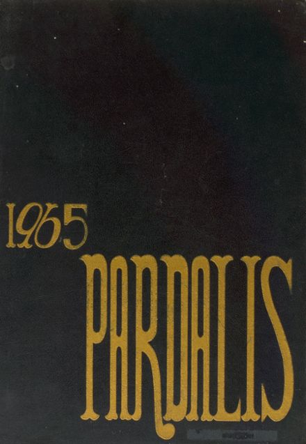1965 Los Angeles Pacific High School Yearbook Cover