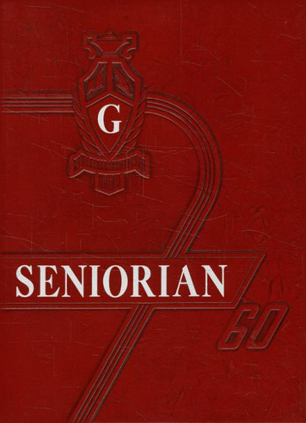 1960 Groveton High School Yearbook Cover