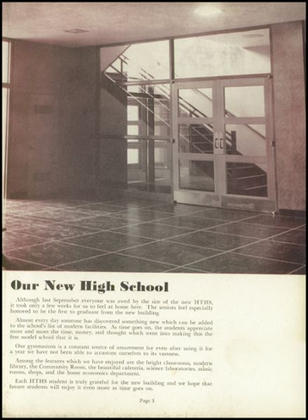 1951 Hinsdale Central High School Yearbook Page 7