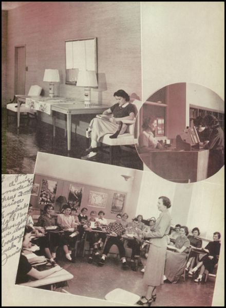 1951 Hinsdale Central High School Yearbook Page 9