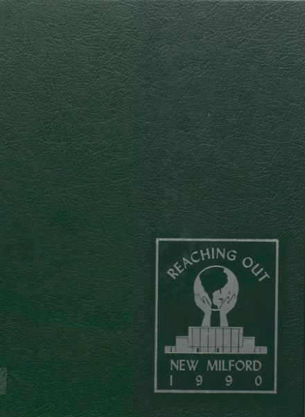 1990 New Milford High School Yearbook Cover