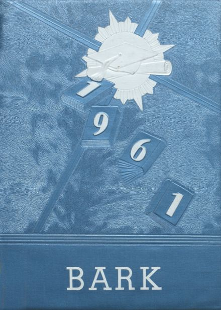 1961 Le Mars Community High School Yearbook Cover