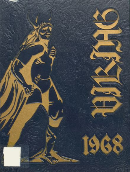 1968 Hopewell High School Yearbook Cover