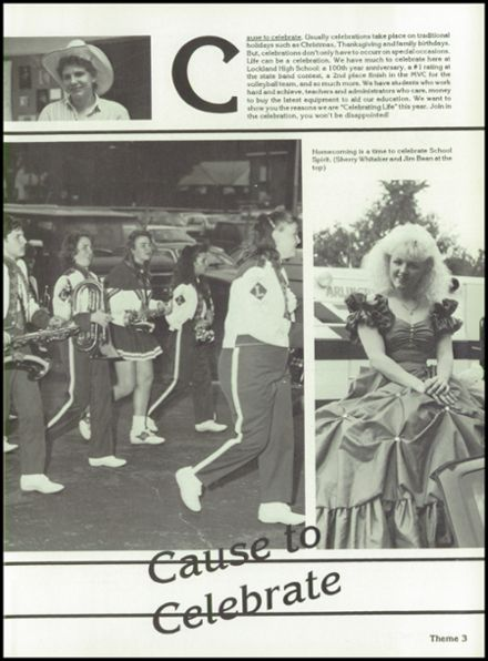 1990 Lockland High School Yearbook Page 7