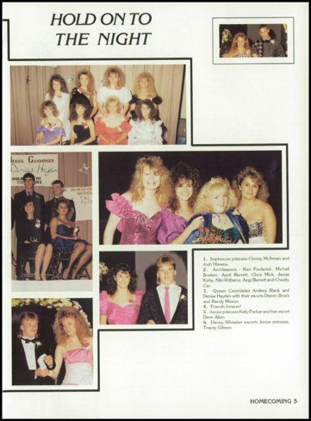 1990 Lockland High School Yearbook Page 9