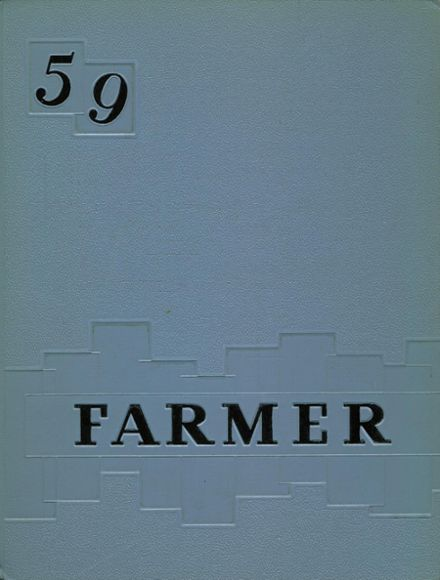 1959 Wheat Ridge High School Yearbook Cover
