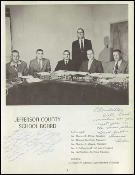 1959 Wheat Ridge High School Yearbook Page 9