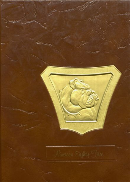 1985 Osceola High School Yearbook Cover