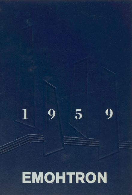 1959 Northome High School Yearbook Cover