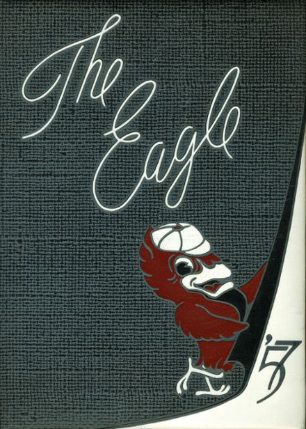 1957 Templeton High School Yearbook Cover