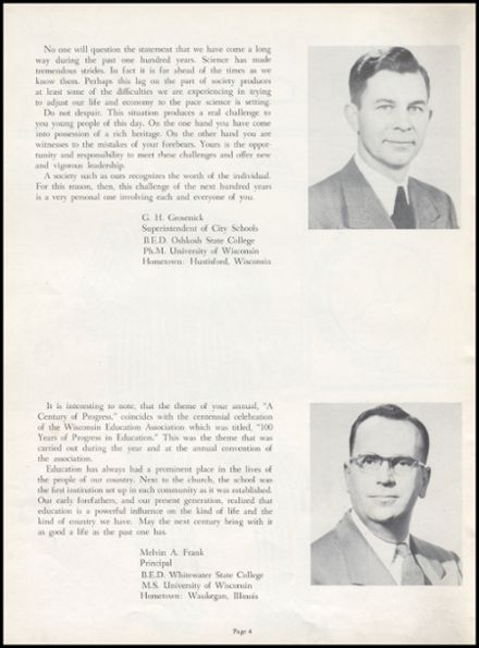 1954 Richland Center High School Yearbook Page 8