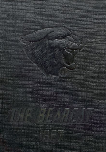 1967 Bentworth High School Yearbook Cover