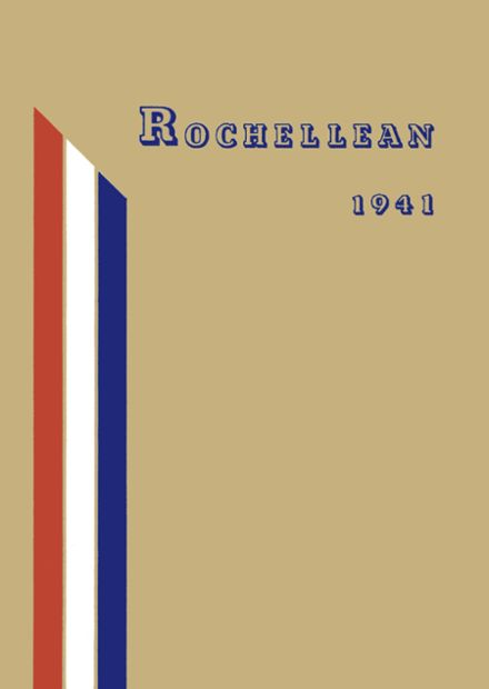 1941 New Rochelle High School Yearbook Cover