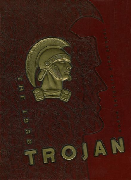 1952 North Catholic High School Yearbook Cover
