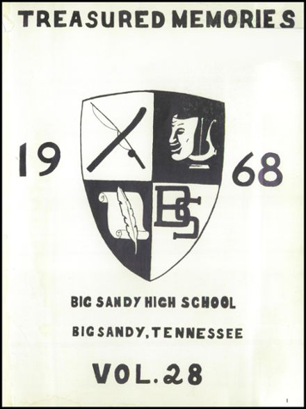 1968 Big Sandy High School Yearbook Page 5