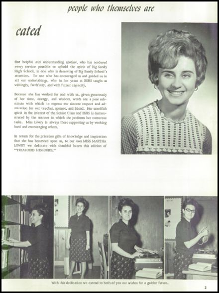 1968 Big Sandy High School Yearbook Page 7