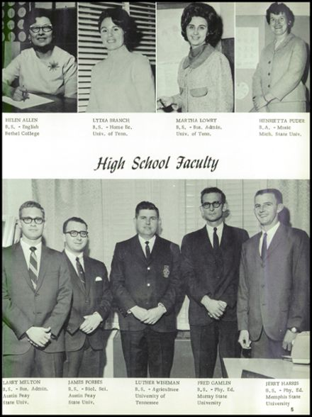 1968 Big Sandy High School Yearbook Page 9