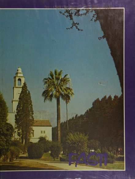 1975 Chaffey High School Yearbook Cover