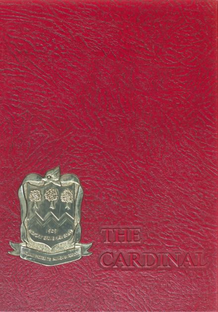 1971 Hickory Grove High School Yearbook Cover