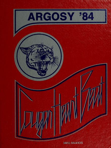 1984 Carroll High School Yearbook Cover
