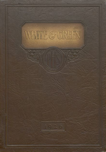1926 Provo High School Yearbook Cover