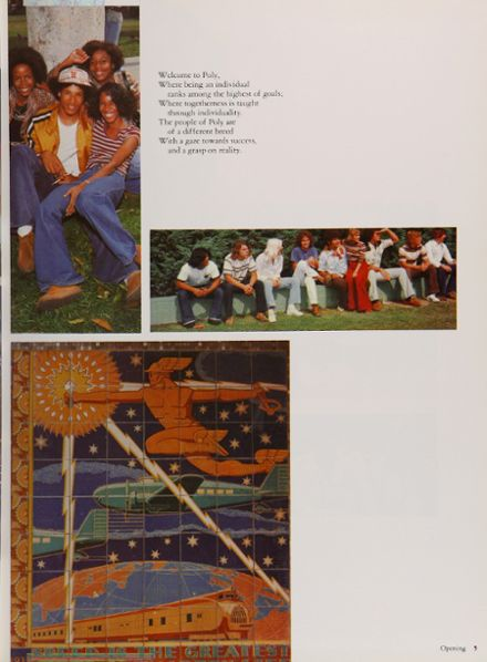 1977 Long Beach Polytechnic High School Yearbook Page 9
