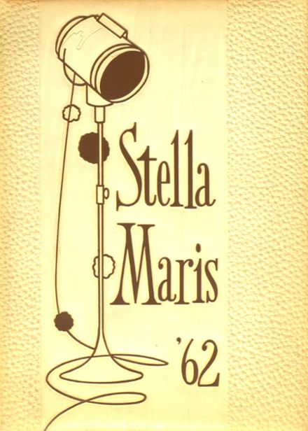 1962 Mary Star of the Sea High School Yearbook Cover