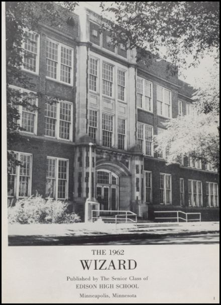 1962 Edison High School Yearbook Page 5
