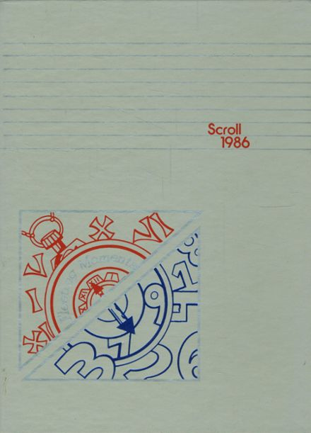 1986 Cuyahoga Valley Christian Academy Yearbook Cover