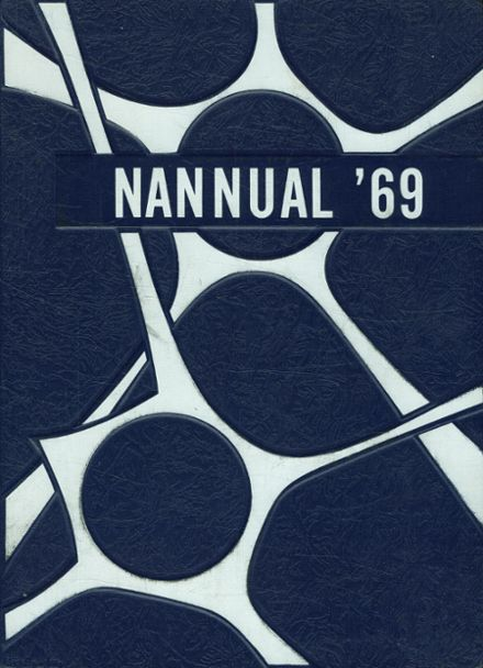 1969 Greater Nanticoke Area High School Yearbook Cover