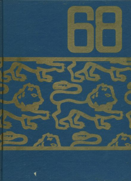 1968 Lincoln High School Yearbook Cover